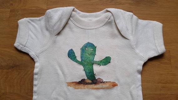 Cutie Cactus Infant Cotton Onesie