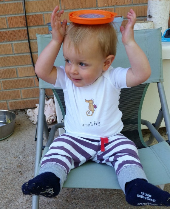 Small-Fry Infant Seahorse T-Shirt