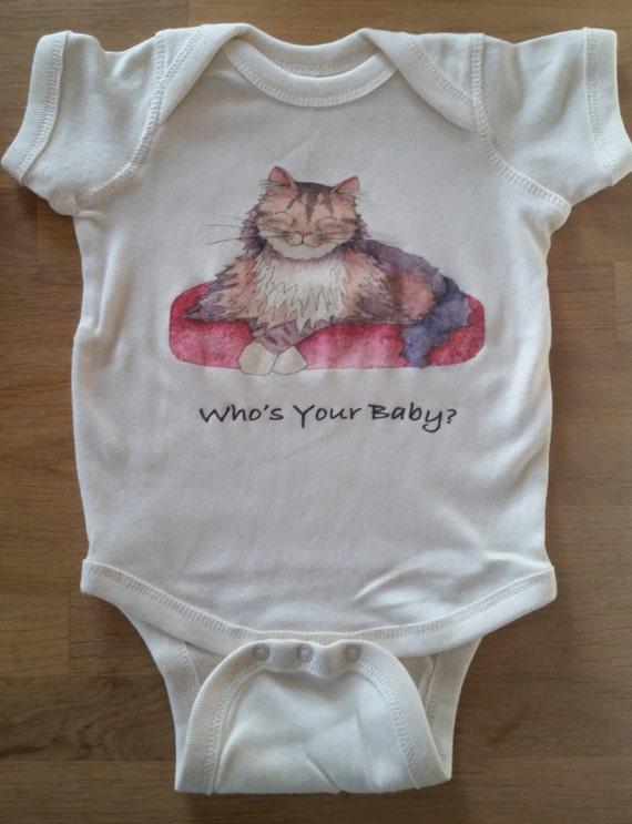 Cat Cotton Onesie