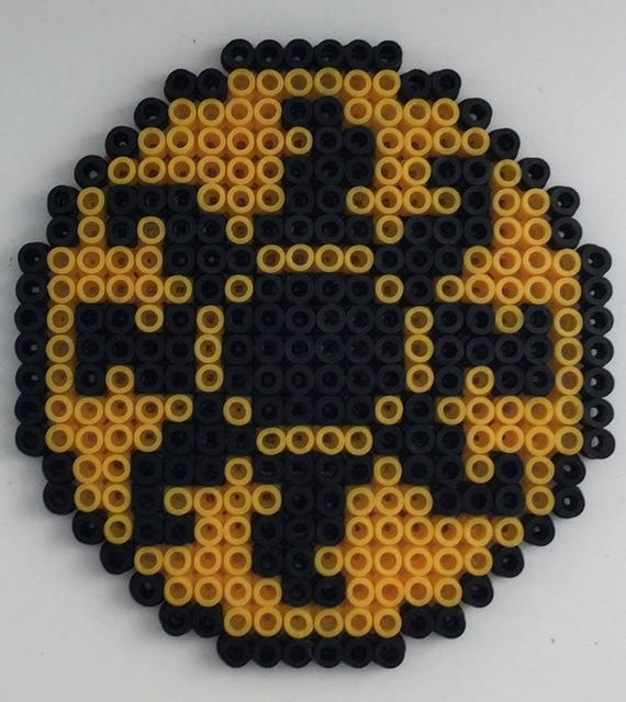 Mtg Mana Symbols Hama Bead Pixel Coaster Etsy