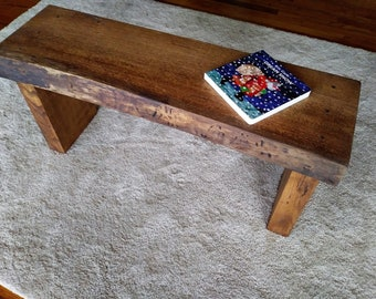 Swell Rustic Wood Benches Etsy Evergreenethics Interior Chair Design Evergreenethicsorg