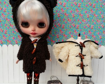 Brown sheep coat with leggings for BLYTHE