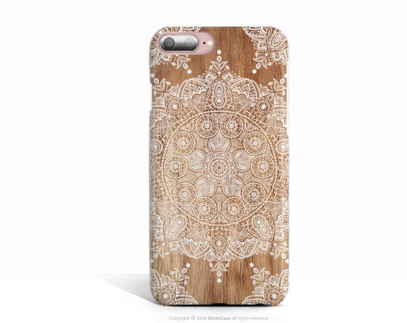 iPhone 8 Plus Case iPhone 8 Wood Case iPhone X Case iPhone 7 Plus Case iPhone 7 Case Samsung S9 Case Samsung S9 Plus Case Lace Mandala White