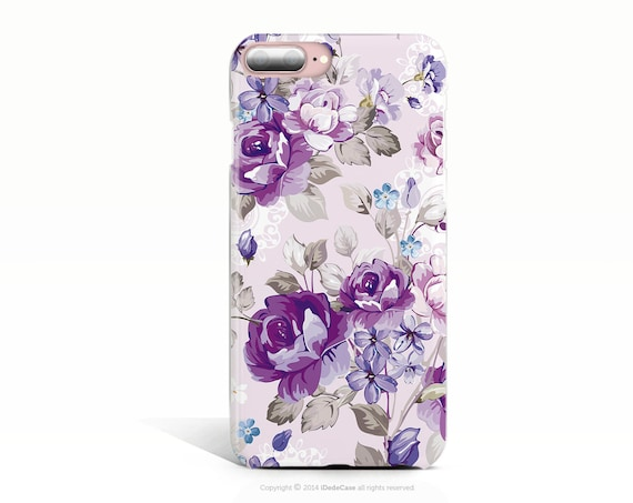 Floral iPhone XR Case iPhone XR Tough Case iPhone XS Case Lilac iPhone 8 Plus Case iPhone 8 Case iPhone 7 Plus Case iPhone 10 Plus Case