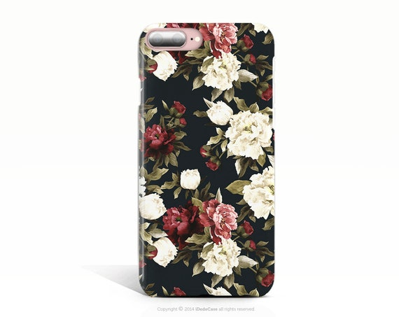 Floral iPhone XR Case iPhone XR Tough Case iPhone XS Case Black iPhone 8 Plus Case iPhone 8 Case iPhone 7 Plus Case iPhone 10 Plus Case