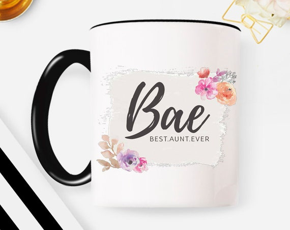 Aunt Mug, Christmas gift, mothers day gift best aunt ever