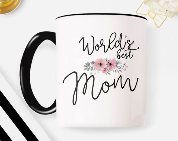 Best Mom Mug, Worlds Best Mum, Gifts for mom, Mothers Day Gift, Present for Mom, mug gift 83MM