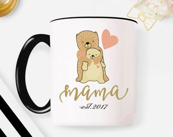 Mama Bear Mug, Mama Mug, New Mom Mug, Mom Mug Mama Mug, Mother Mug, New Mom Gift, Custom Mug, Personalized Mug, Mama Gift, Gift for Mom 36MM