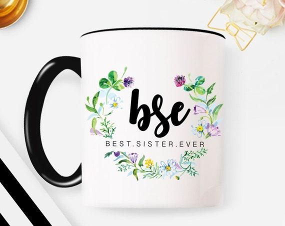 Sister mug sister gift for sister coffee mug sister birthday gift sisters mug sister coffee mug personalized mug custom mug sister mug