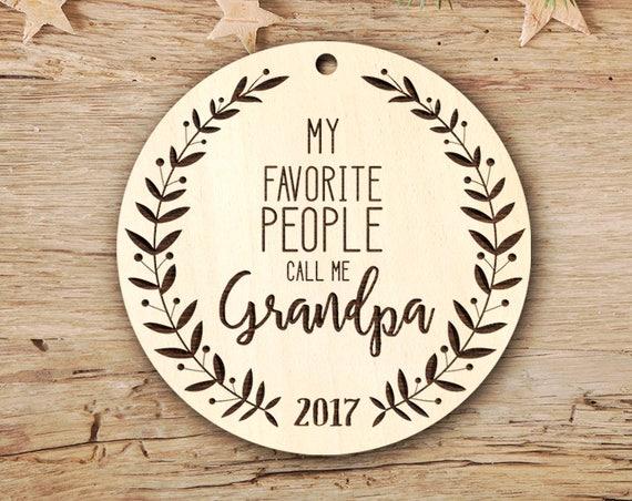 Grandpa Christmas Ornament Grandpa Gift Pregnancy Announcement Grandpa Christmas Gift for him Grandpa Pregnancy Reveal Grandpa Ornaments 14