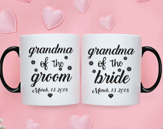 Grandma of the Bride Gift from Bride Grandma of the Groom Gift from Bride Wedding Gift for Grandma of the Bride Mug Grandma Groom Mug 222O