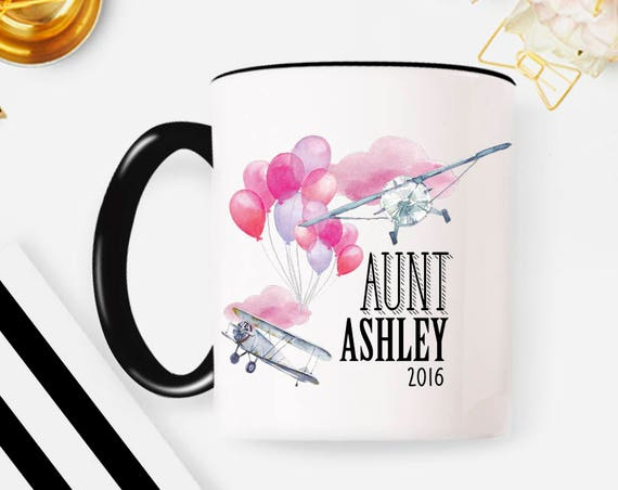 Aunt Gift, Aunt Mug, Aunt to Be, Aunt Announcement, Promoted to Aunt, Gifts for Aunt, New Aunt, Aunt Coffee Mug, Aunt Birthday gift