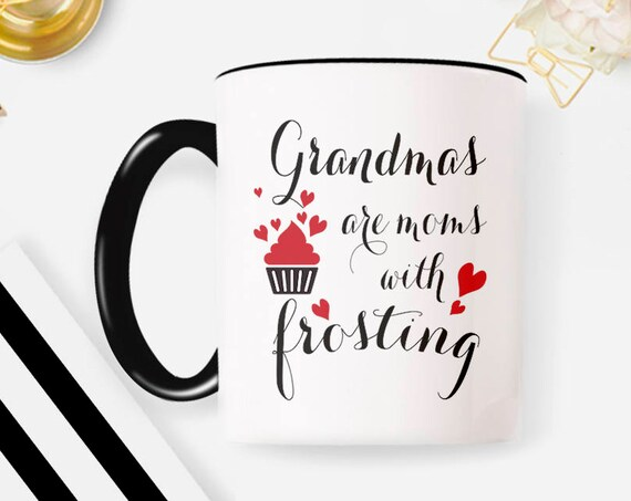 Grandma Gift From Grandchildren, Grandparent Mug, Grandma Gift, Grandma Mug, Birthday Gift For Grandma 89MM