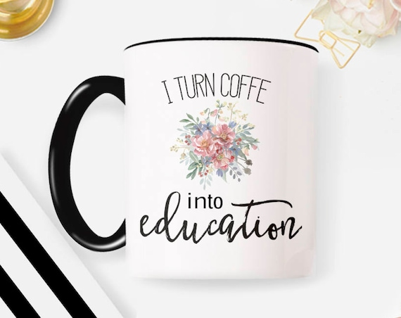 Teacher Gifts, Teacher Mug, Personalized Teacher Gift Teacher Christmas Gifts Gifts for Teachers, Teacher Gifts Personalized, Coffee Cup 59G