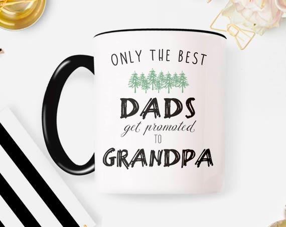 New Grandpa Mug New Grandpa Gift, Grandpa Coffee Mug, Ceramic Mug Sister Mug Suprise Mug Gift Mug 8