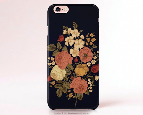 iPhone 7 Case iPhone 7 Plus case Floral iPhone XS Max case Vintage iPhone 8 Plus Case iphone XR Case, iPhone 6 Case iPhone 6s Case for woman