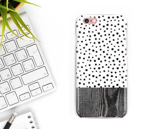 Polka dots iPhone Case iPhone XS Max Case iPhone XS Case iPhone XR Case iPhone X Case iPhone 8 Plus Case iPhone 8 Case 7 Plus 7 6S 6 Case