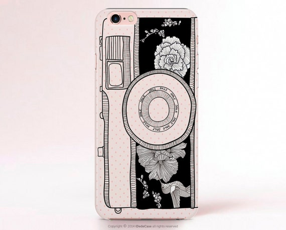 Vintage Camera iPhone 6 case Camera iPhone 7 Case Creative iPhone 6S case Cute iPhone 5C case Cam Samsung Galaxy S7 Case S5 Case Note 9 Case