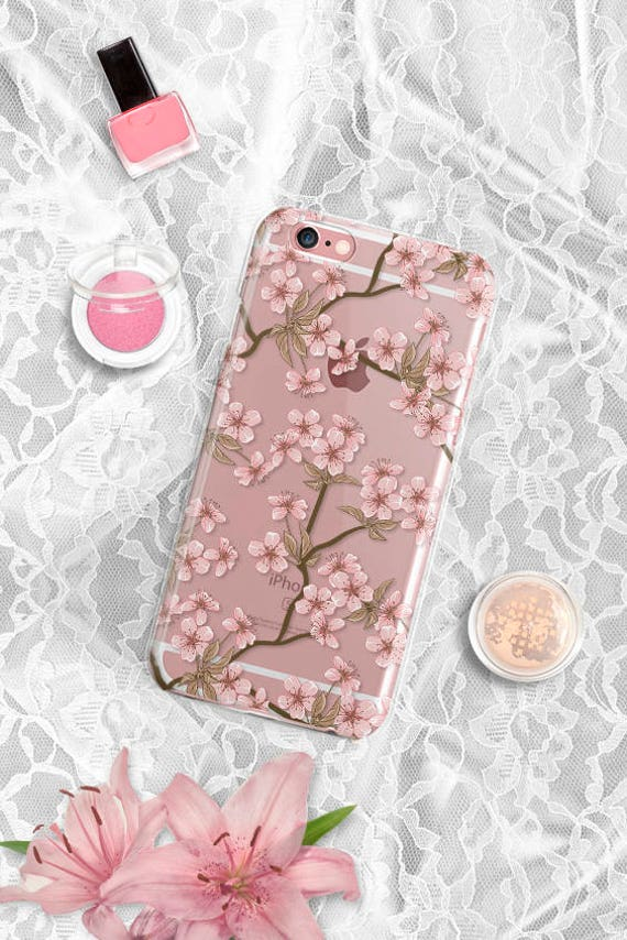 iPhone X Case blossom iPhone 8 Case Clear iPhone 8 Plus Case Samsung Galaxy S8 Case iPhone 7 Plus Case iPhone 6 Plus Case iPhone 6 Case