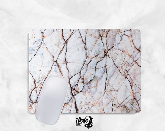 Marble Mousepad Marble mouse pad Round or Rectangle Mouse pad Beautiful Design Marble Mouse pad Cute gift Mousepad 42