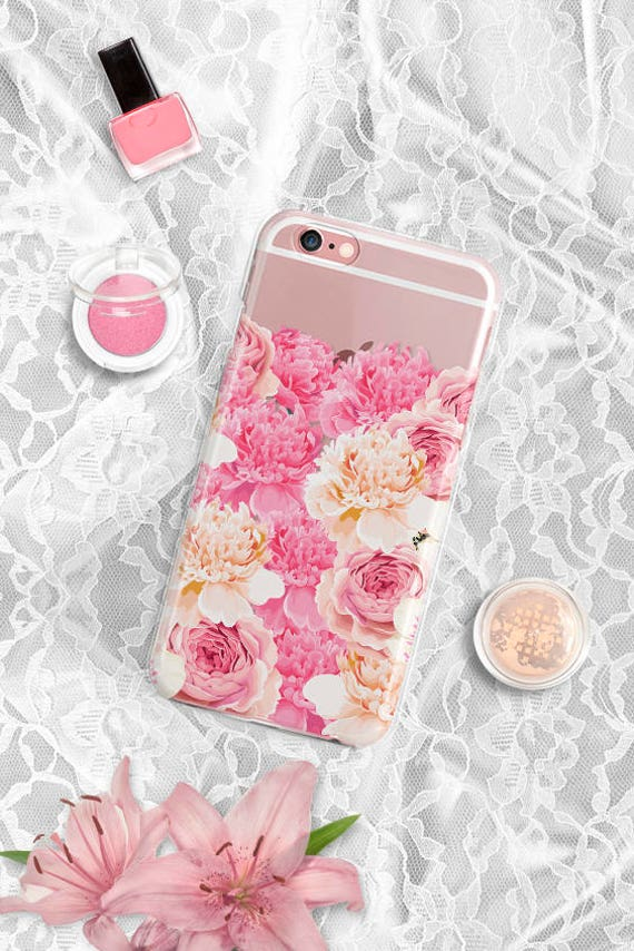 iPhone X Case floral iPhone 8 Case Clear iPhone 8 Plus Case Clear Samsung Galaxy S8 Case iPhone 7 Plus Case iPhone 6 Plus Case iPhone 6 Case