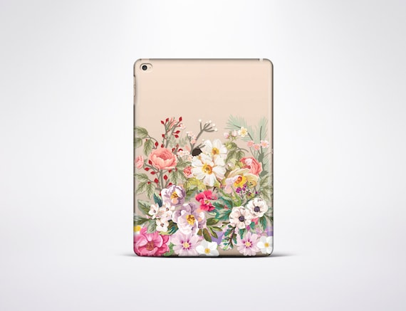 Floral iPad Air 2 Case iPad 4 Case Rubber iPad Pro 9.7 Case Gold iPad Cases CLEAR iPad Mini 2 Case CLEAR iPad Mini 4 Case CLEAR iPad 3 Case