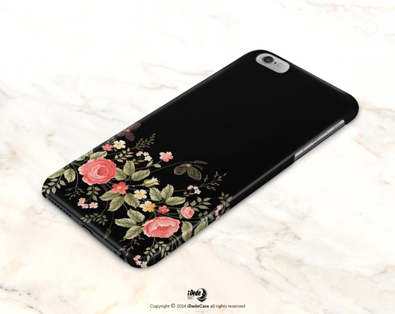 Floral iphone X Case iphone 8 case iPhone 6s Case iPhone 8 Plus Case iPhone 6 Case vintage Samsung Galaxy S8 Case iPhone 8 Plus Case