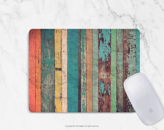 Wood Print Mousepad colorful mouse pad Round mousepad Rectangle Mouse pad Beautiful Design Mouse mat Cute gift Mousepad 21