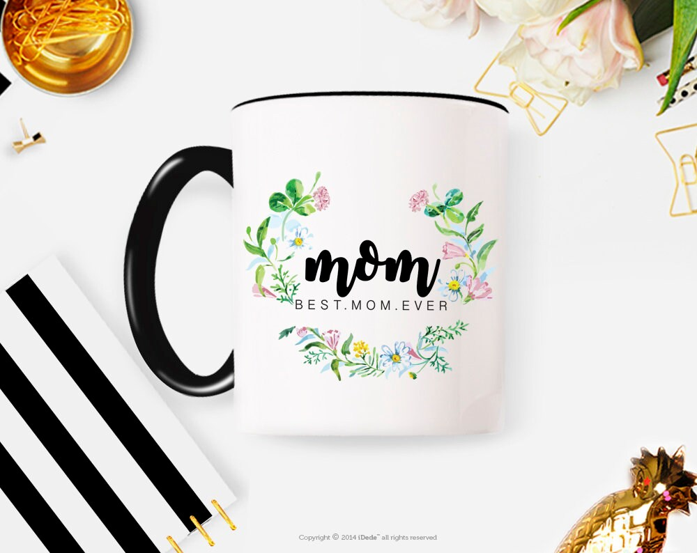 Best Mom Mug Mothers Day Gift For Coffee Mother Birthday Personalized Custom Ever