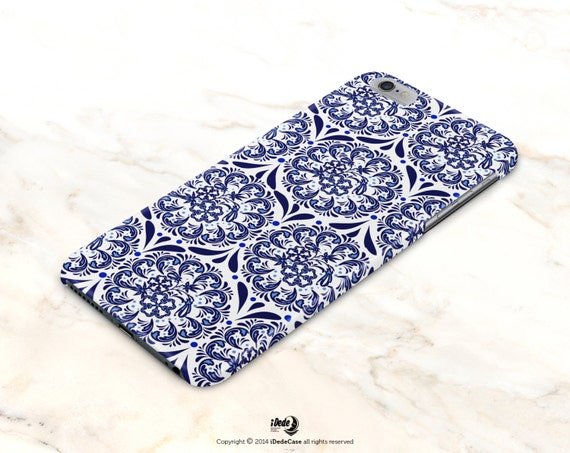 Moroccan iPhone 6s case Tribal iPhone 6 case iPhone 6 plus case iPhone 7 case blue phone case iPhone 5 case, Samsung S4 case S5 case 398