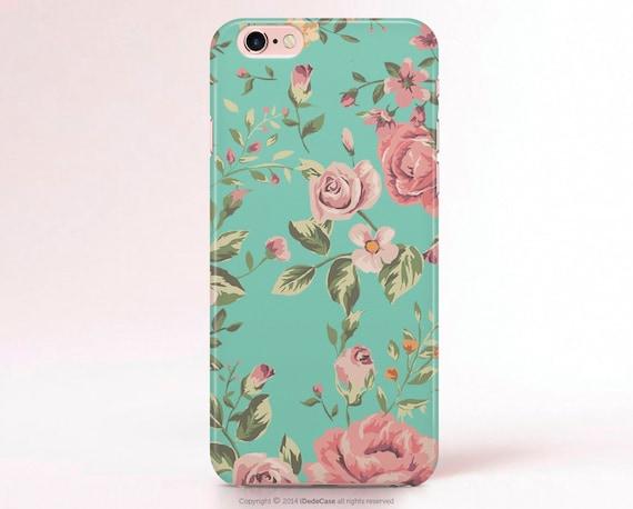 iPhone 7 Case iPhone 7 Plus Case Floral iPhone 6s plus Case floral iPhone 6s Case mint iPhone LG G6 Case Samsung S8 Plus Case iPhone SE Case