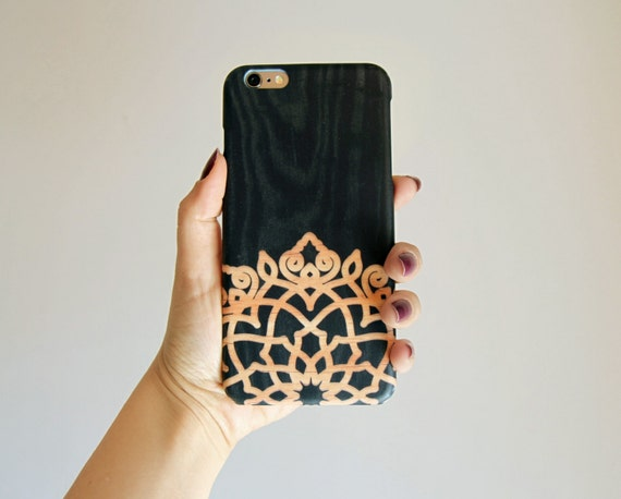 iPhone 8 Plus Case TOUGH iPhone 8 Case iPhone 7 Plus Case Mandala iPhone 7 Case wood iphone 6 case Galaxy Note 8 Case iPhone X Case XS Case