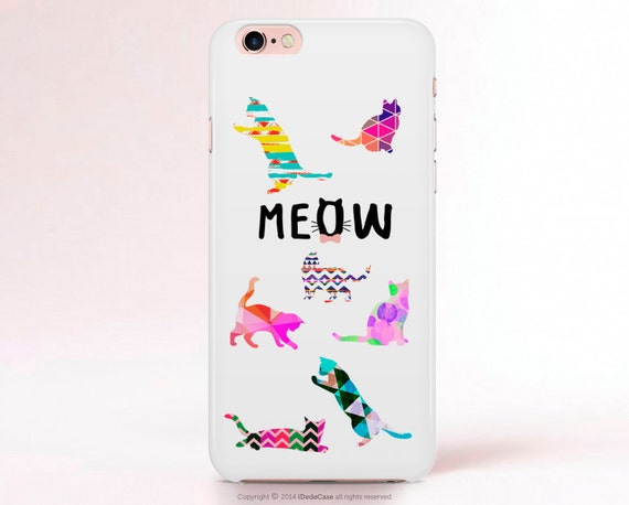 CAT iPhone 7 Case Cat iphone 7 Plus Case iPhone 6s case iPhone 6 Case Cats Samsung S7 case Cat LG G3 case Samsung S7 Edge case [116]