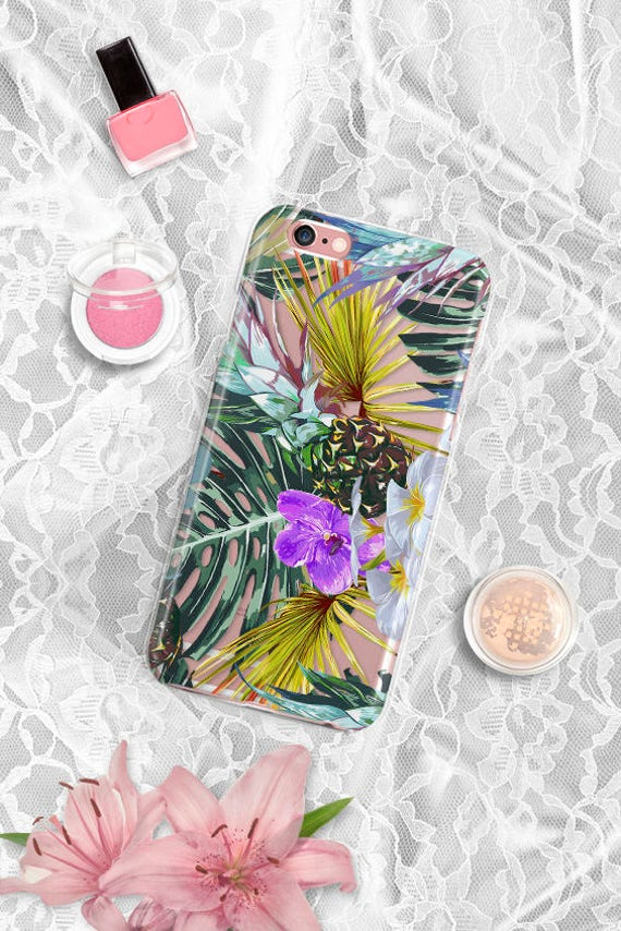 iPhone 7 Case leaves iPhone 8 Case Clear iPhone 8 Plus Case Clear Samsung Galaxy S8 Case leaf iPhone 7 Plus Case iPhone 6 Case iPhone 5 case