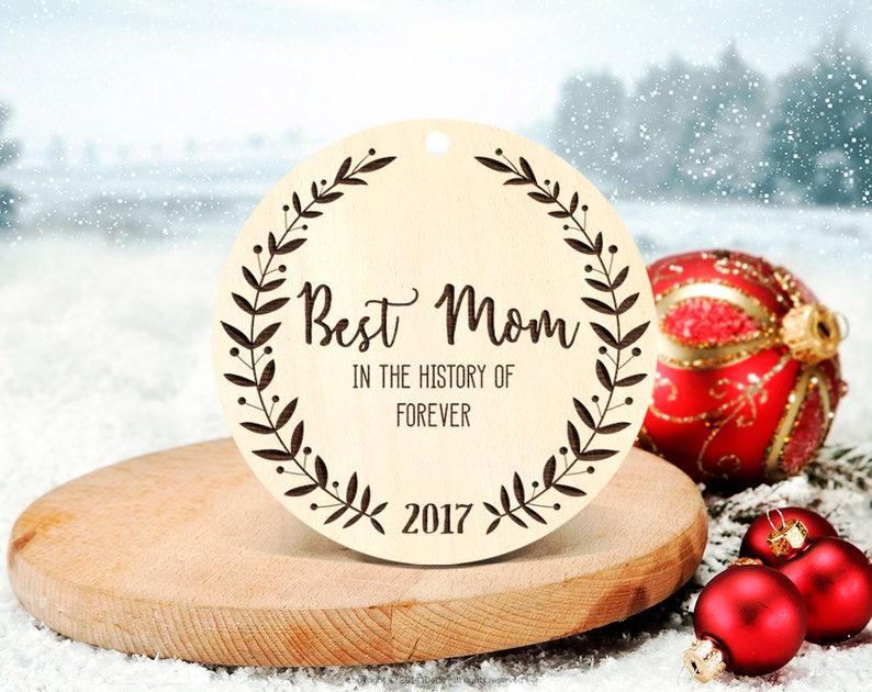 Eltern Weihnachten Geschenk Beste Mama Weihnachtsbaum Ornament Etsy