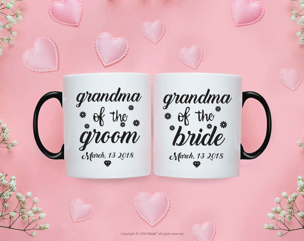 Grandma of the Bride Gift from Bride Grandma of the Groom Gift from ...