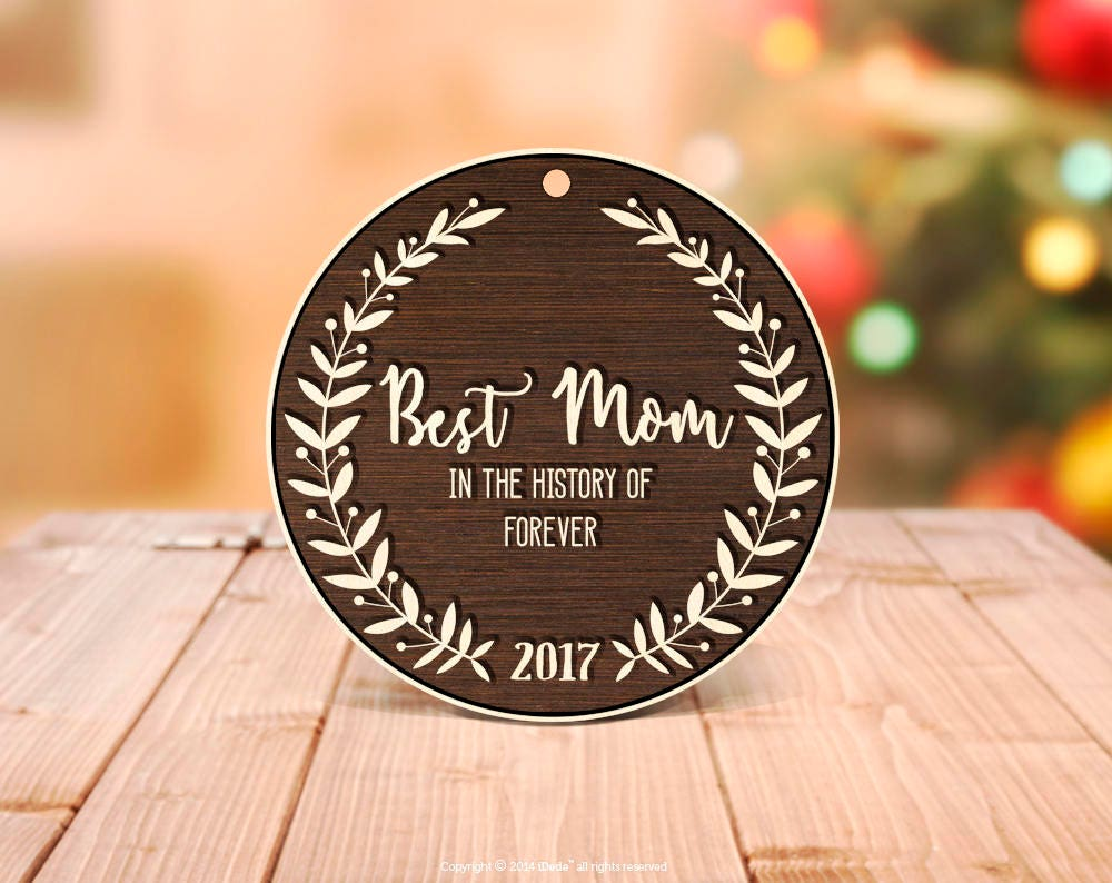 Mom Ornament New Mom Gift Personalized Christmas Ornaments Christmas ...