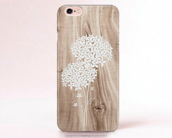 iPhone 8 Case Hydrangeas Floral iPhone 6s Plus case Samsung Galaxy S8 Case Wood iPhone 7 Plus Case Floral iPhone SE Case Wood iPhone 7 Case
