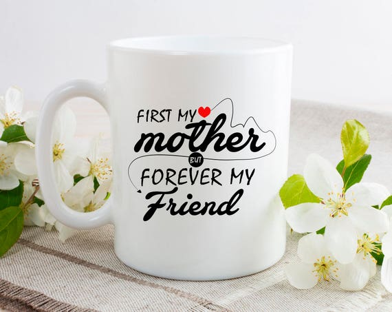 My Mother Forever Best Friend Mug - From Doughter Gift Personalised Mum Mug - Mum Est Mug - Best Friend Mug - Mothers Day Gift 5CA
