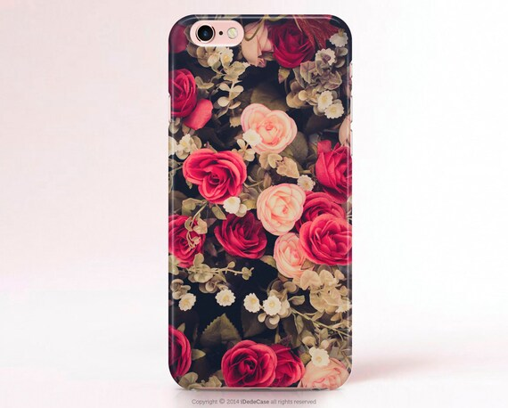 Floral iphone 7 case iPhone 6 Case iPhone 5 Case iPhone 4 Case floral Samsung Galaxy S6 Case Note 3 case floral LG G3 Case Galaxy S5 Case