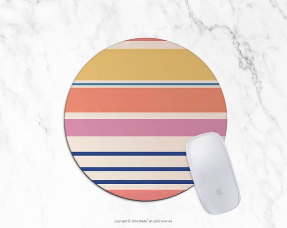 Modern Mousepad Stripes Mousepad Rectangle Mouse pad Beautiful Design Floral Mouse pad Cute gift Office Computer Accessories 6