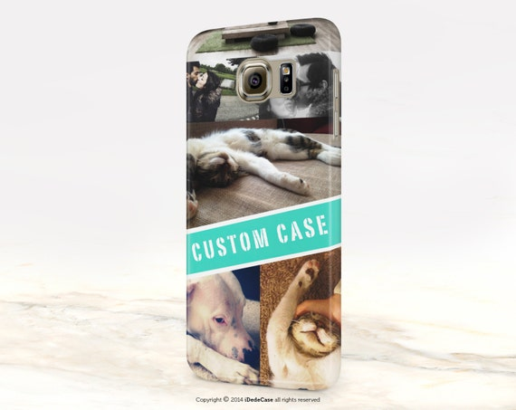 Custom Photo personalized Phone Case for iPhone 7, iPhone 8, iPhone X, iPhone 6s,  iPhone 6, Samsung S9 Plus, iPhone 8 Plus Case custom