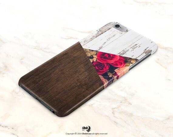 iPhone 8 Plus Case Matte iphone 8 Case Samsung Galaxy S9 Plus Case wood Samsung Galaxy S9 Case Floral iPhone 6s Case Rose iPhone X Case
