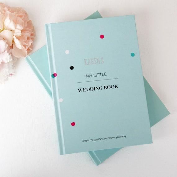 Personalisierte Hochzeit Planung Buch Mint Etsy