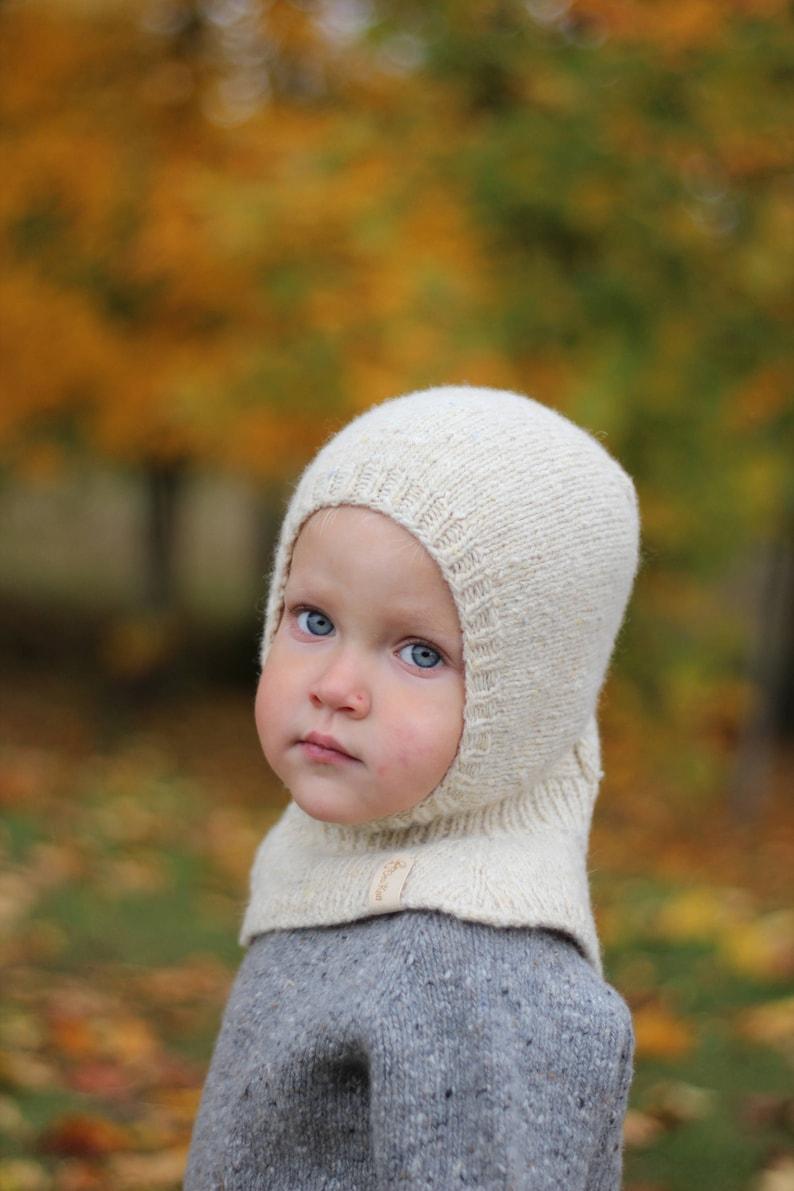 694d63afb1e Knit baby balaclava wool balaclava winter hat baby hat