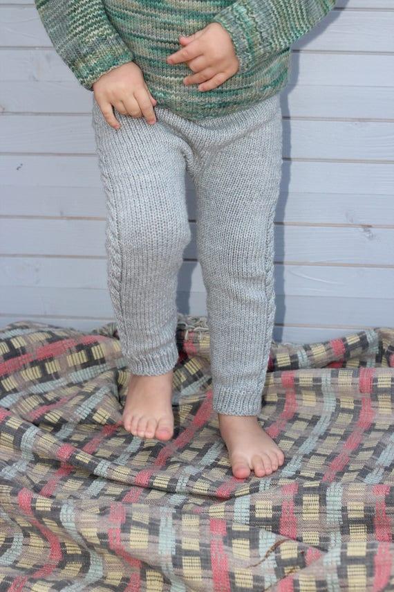 Stricken Baby-Hosen Leggings mit Wolle stricken wolle | Etsy