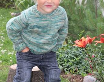 100% merino wool seamless sweater. Multi color sweater. Khaki sweater. Knitted wool sweater. Knitted boy sweater. Knitted girls sweater.