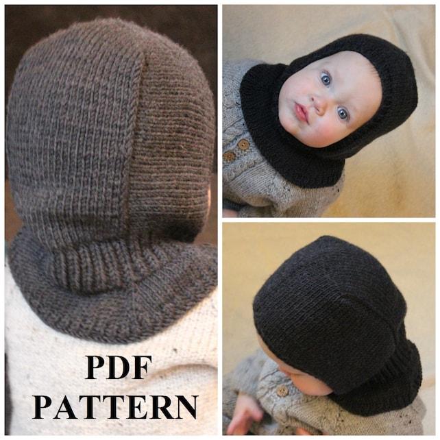 Knitting Pdf Pattern Balaclava Pattern Balaclava Pdf Hat Etsy