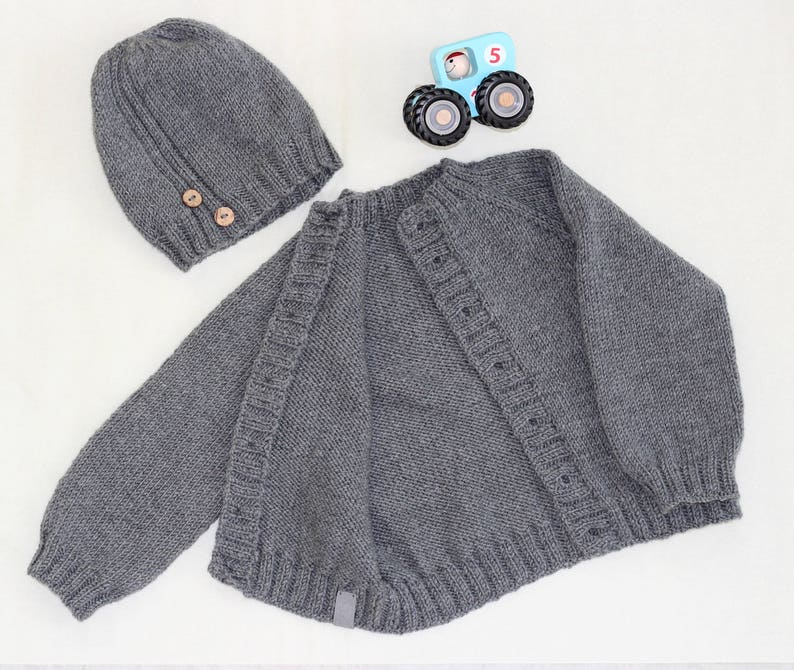a1bd759878ce Hand knitted sweatermerino wool sweater baby sweater
