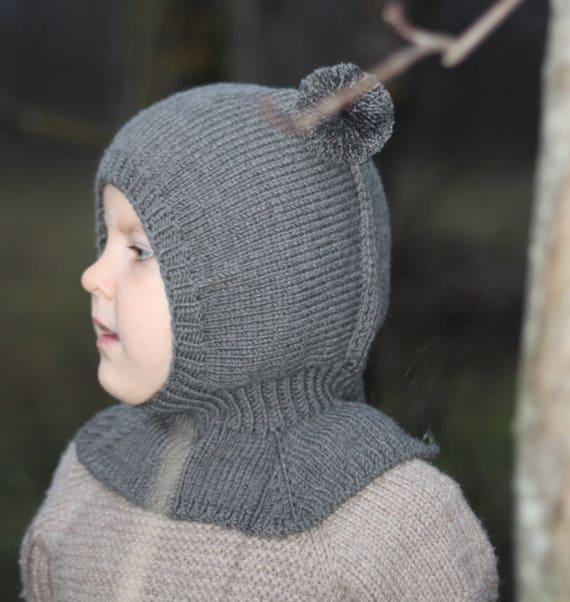 db0e8357036b Ours en peluche chapeau chapeau à capuche bébé bonnet et   Etsy